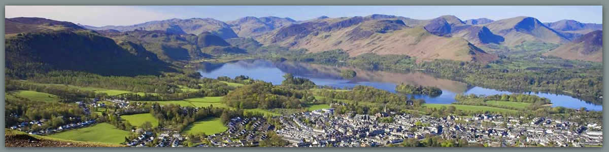 Keswick and Derwent from Latrigg